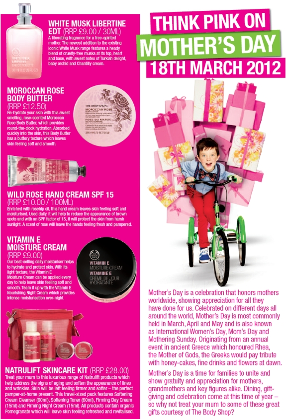 BodyShopMothersDay