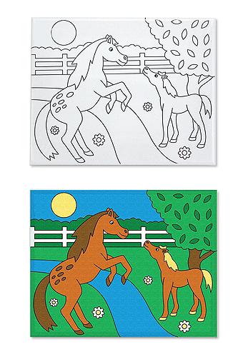 Canvas Creations Horses