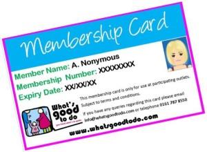 WGTD Membership Card