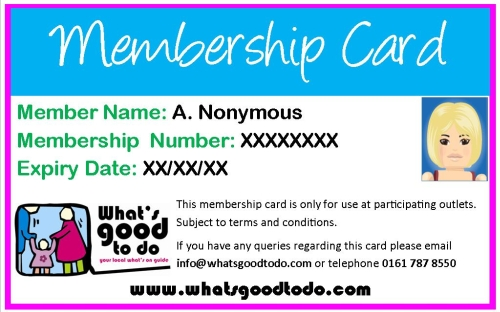 Receive A FREE Featured Listing On Our Website For As Long As You Are  Running The Discount Or Offer, So That Potential Clients Know That You Are  Part Of Our ...  Membership Card Samples