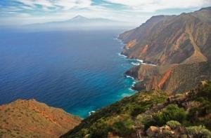 La Gomera coastal view