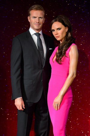 International superstars and celebrity power couple, Victoria and David Beckham, were today honoured with new wax figures at the world famous Madame Tussauds London ahead of their 15th wedding anniversary on 4th July.