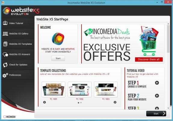 WebsiteX5Start