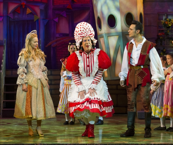 'Jack and the Beanstalk' Pantomime performed at the Theatre Royal Plymouth UK
