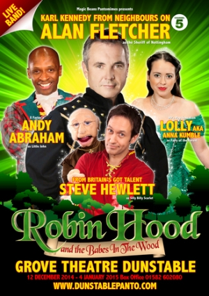 robin hood and the babes in For her 29th panto production, writer and director janice honeyman has given us  robin hood and the babes in the wood, a historical mash-up.