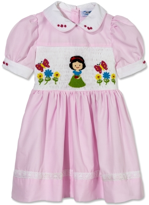 5ba966550 Aurora Royal Hand Smocked Snow White Dress Review | What's Good To Do