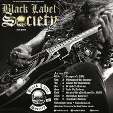 Black Label Society 2015 UK Tour