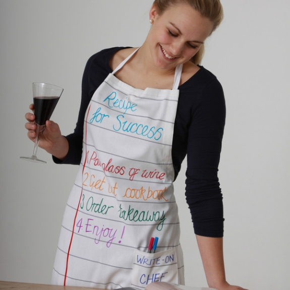 the doodle apron - adults