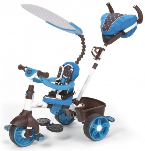Little tikes perfect fit 4-in-1 trike (teal).