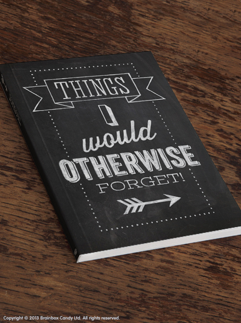 ThingsIWouldOtherwiseForgetNotebook