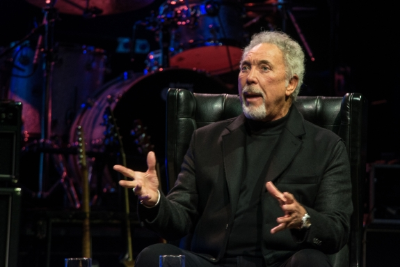 Tom Jones talking about his book