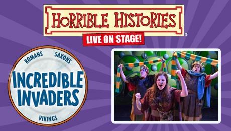 Horrible Histories Incredible Invaders