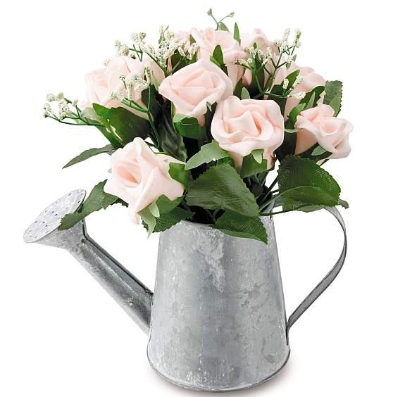 SpringHomeFaux FlowersPots