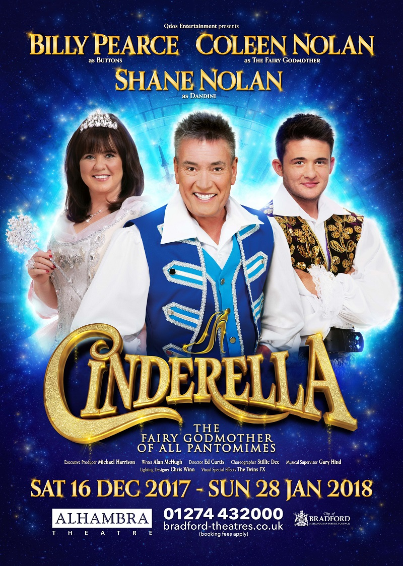 Cinderella At The Alhambra Theatre Bradford Review What